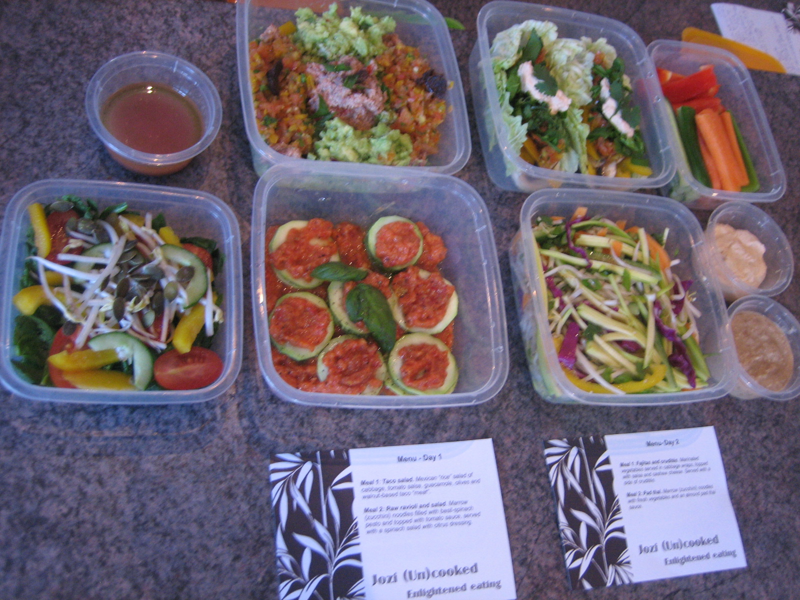 Raw vegan meal plan in pictures  Jozi Uncooked: Johannesburg39;s