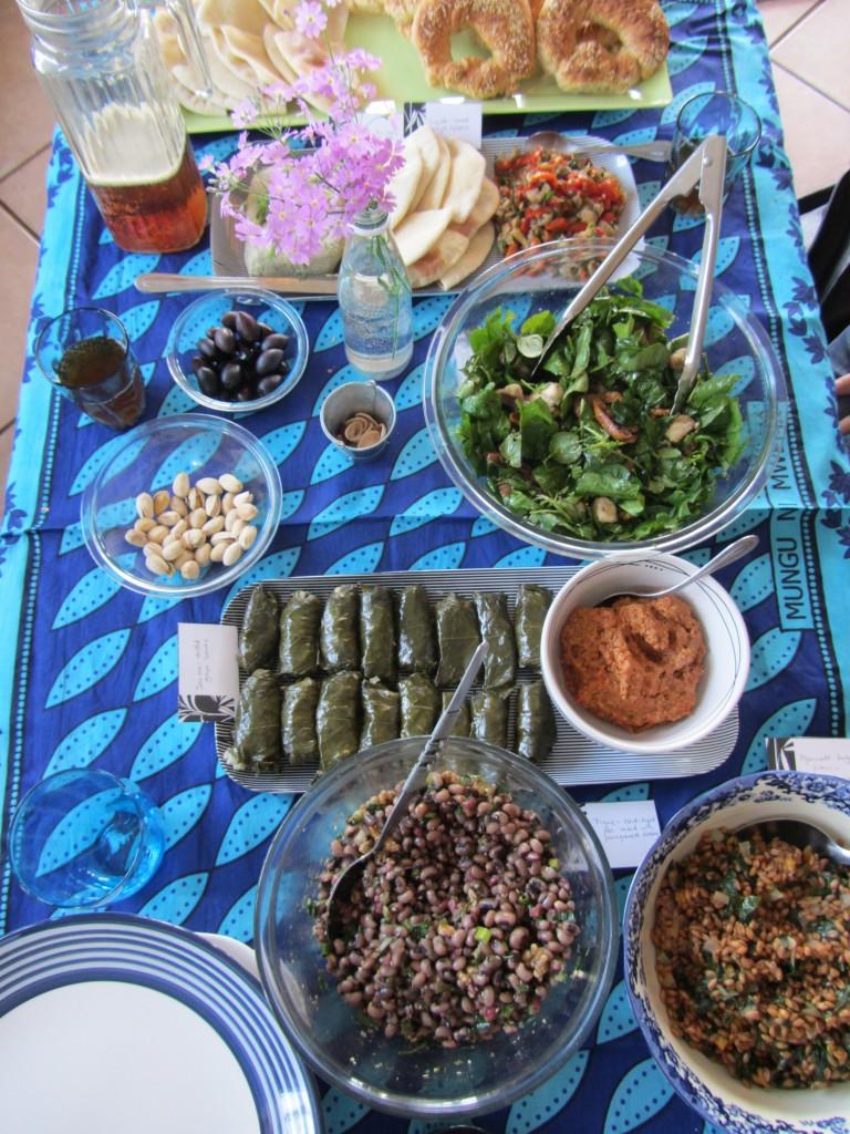 Turkish meze feast