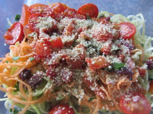 raw vegan pasta puttanesca