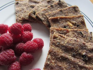 Raw chocolate banana flatbread